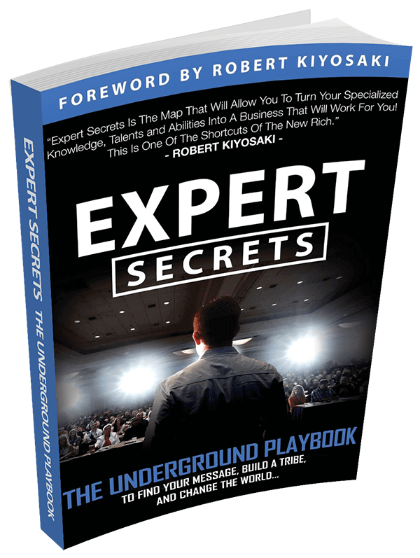 Buy Expert secret's book now for free. Only pay for shipping!