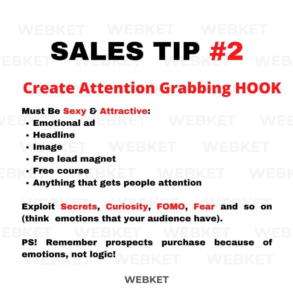 Sales tip #2 - how to write a hook that is attention grabbing and converts well .jpg