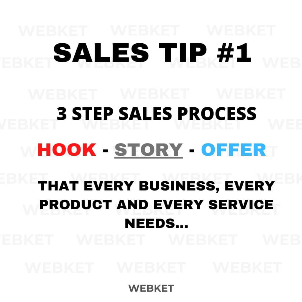 every business needs to learn how to write a hook, story or offer